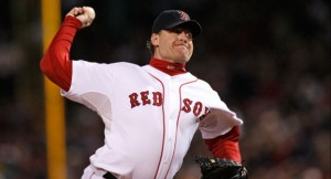 Curt Schilling baseball player admits being nervous