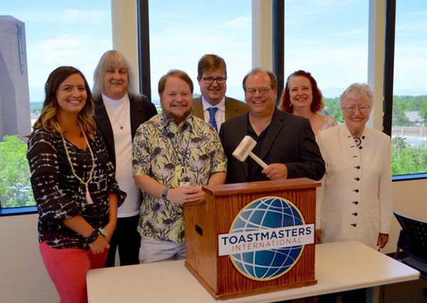 George Sutton Toastmasters Officers