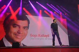 Gopi Kallayil speaking