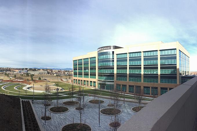 Denver Colorado big business building